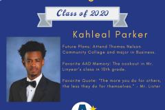 Kahleal Parker